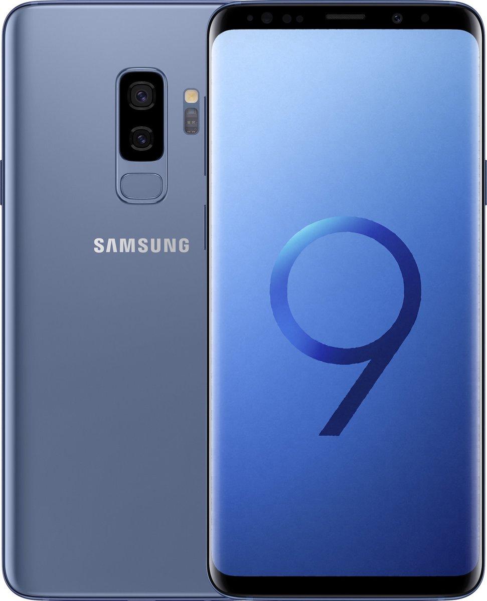 Samsung Galaxy S9+ - 64GB - Dual Sim - Coral Blue (Blauw) kopen
