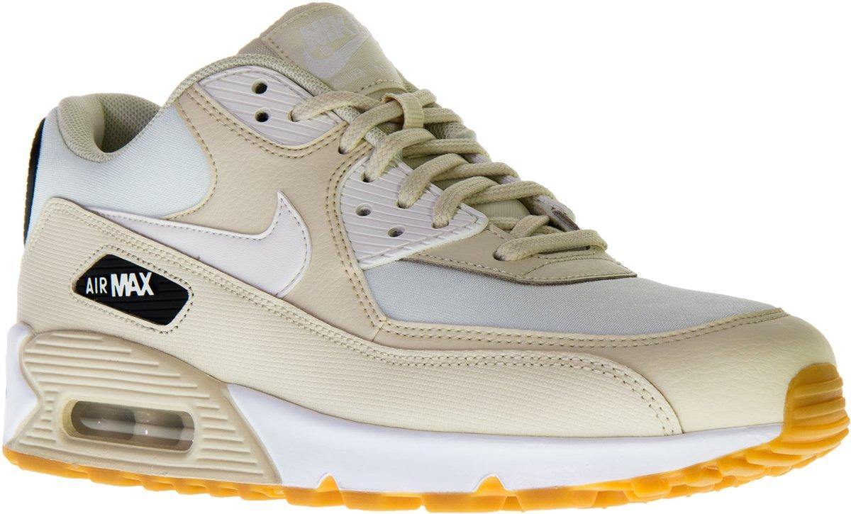 Nike Air Max 1 Sneakers BeigeZwartWit Maat 40