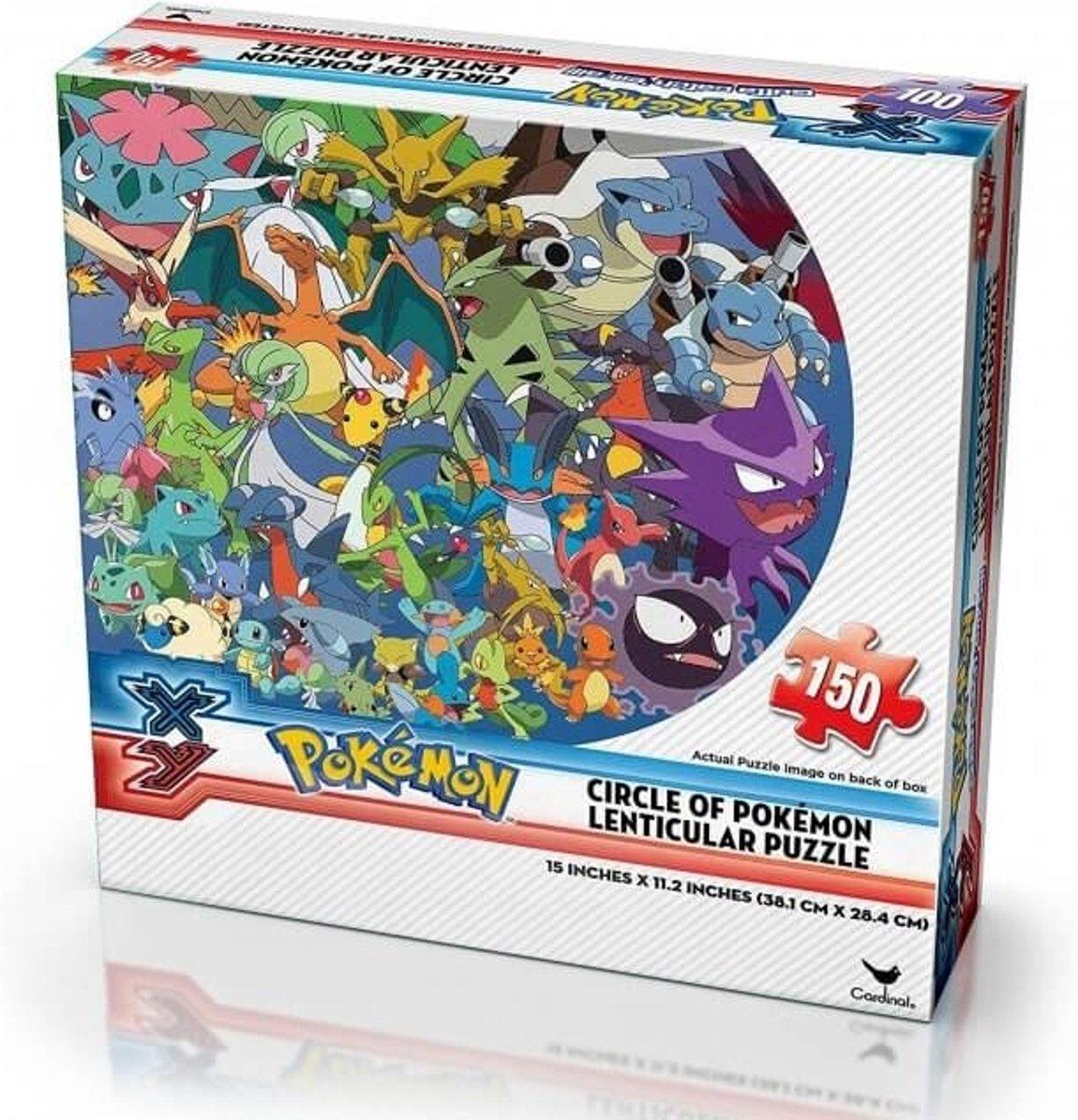Pokemon X&Y Lenticular Puzzle - Circle of Pokemon