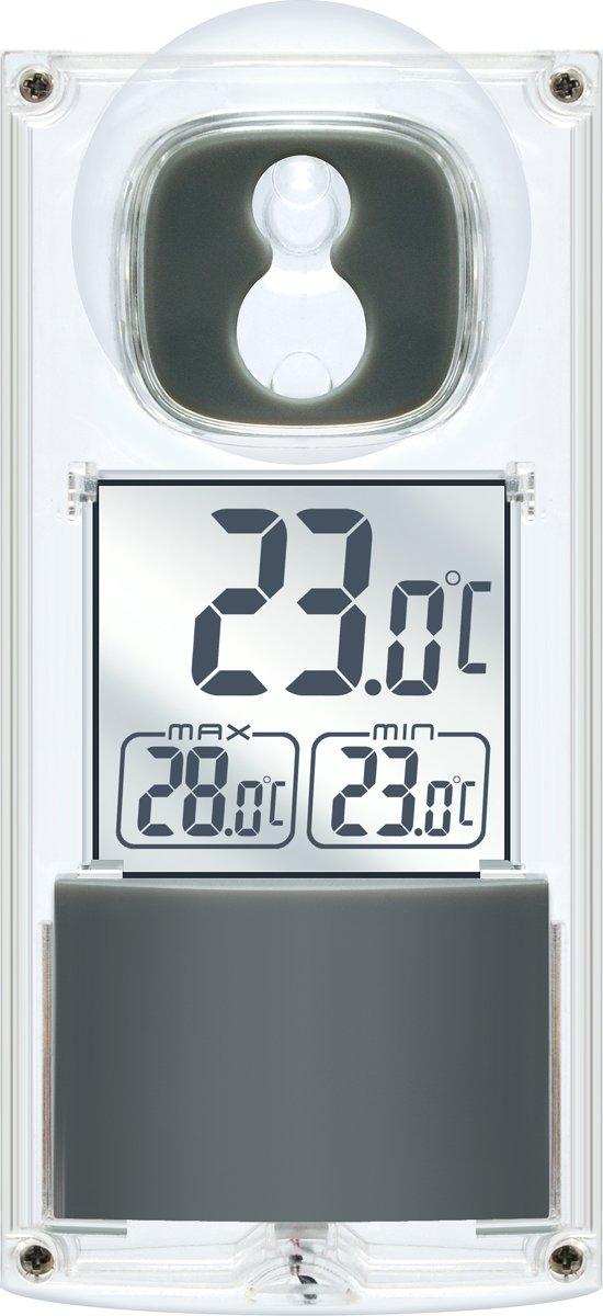 Bresser Solar Raam Thermometer op Zonnecellen