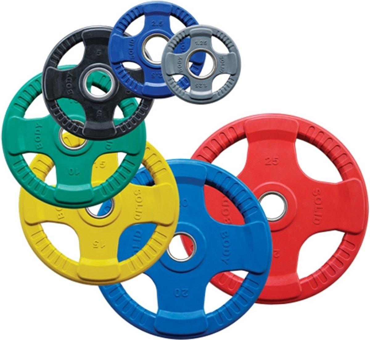 Body-Trading ORCK10 - Olympische Rubber Halterschijf kopen