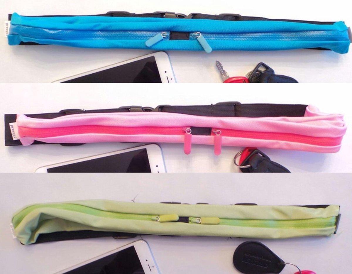 Hardloop Riemen - Hardloopriem - runningbelt - 3 STUKS  DEAL !!!   -  Sport Heupband - Hardloopband - Smartphone & sleutel houder - kopen