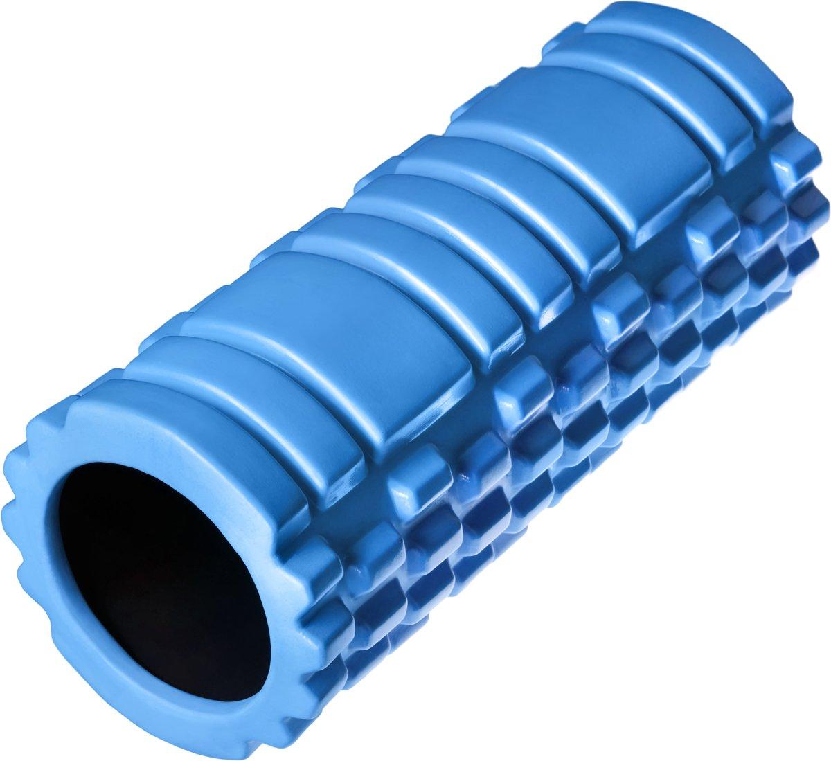 TecTake -  Yoga massagerol foamroller blauw - 402843 kopen