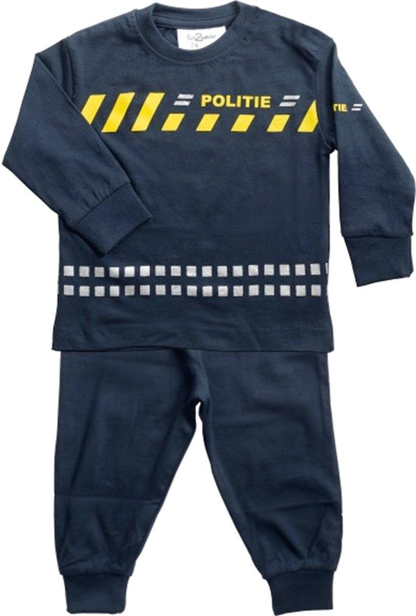 Fun2Wear Politie Pyjama nieuw Uniform maat 104 kopen