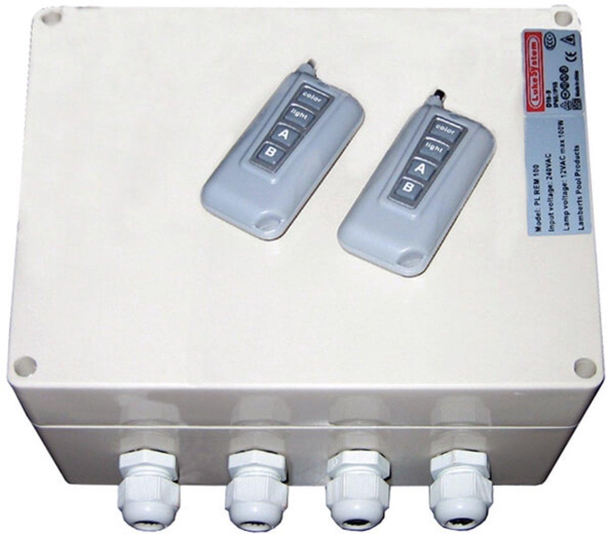 Aquaforte afstandsbediening PL REM (12VAC nodig)
