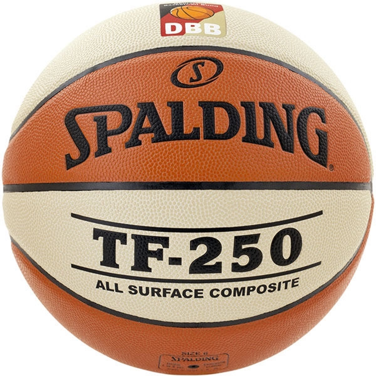 Spalding TF250 DBB IN/OUT Maat 6 kopen