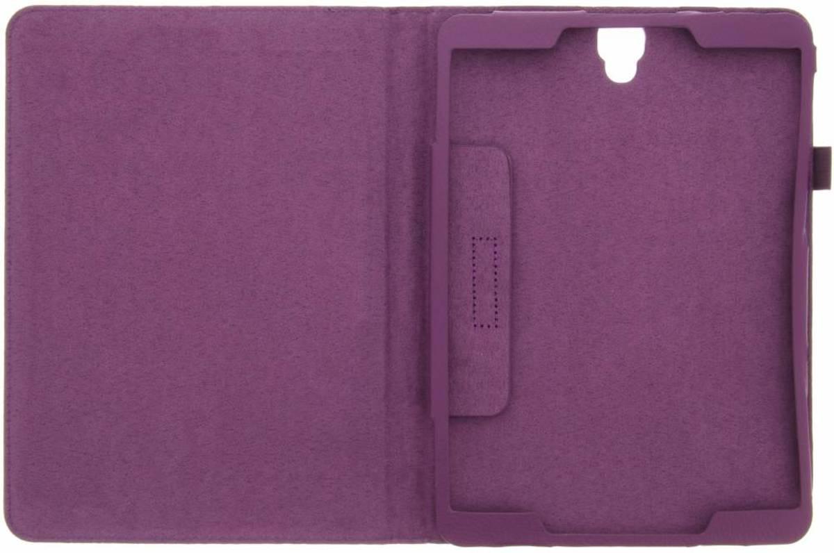 Couverture Violette Tablette Simple Pour Samsung Galaxy Tab 9.7 S3 Sc42egpi