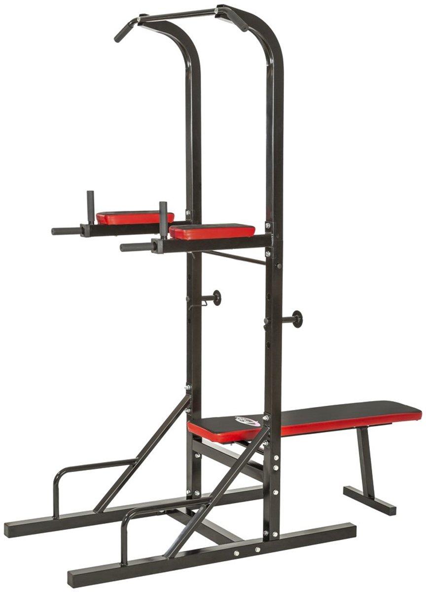 Krachtstation fitness kracht apparaat fitness station 401400 kopen