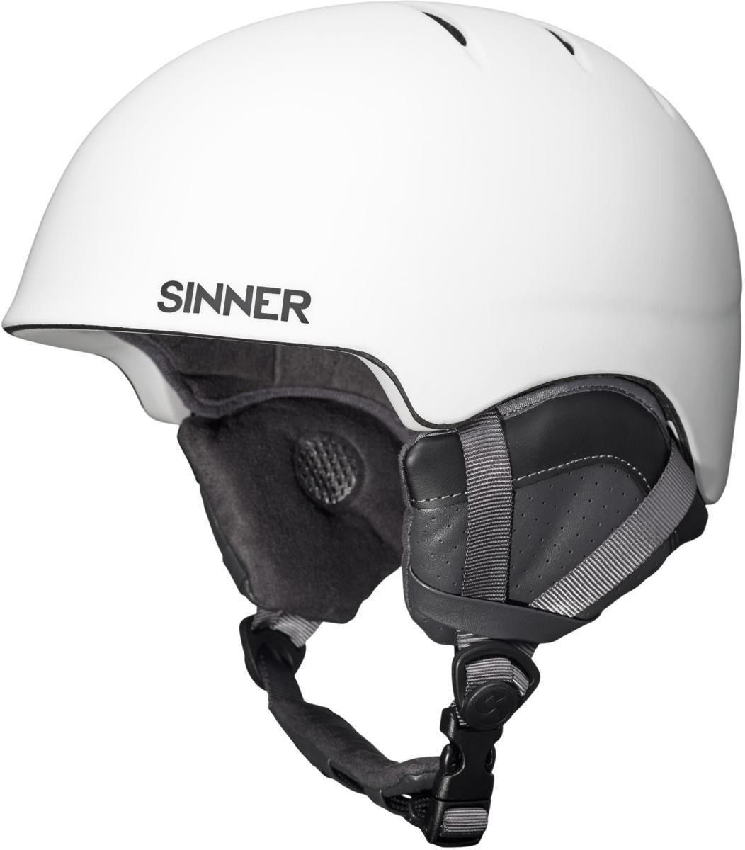 Sinner Lost Trail - Skihelm - Volwassenen - 55-56 cm / S - Wit kopen
