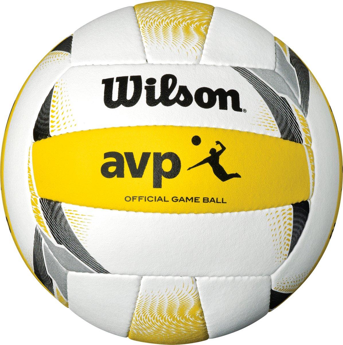 Wilson AVP II Official - Beachvolleybal - Wit/Geel kopen
