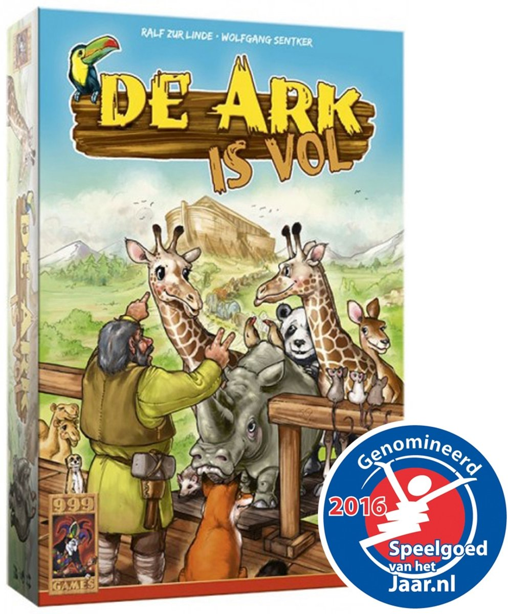 De Ark is Vol - Bordspel