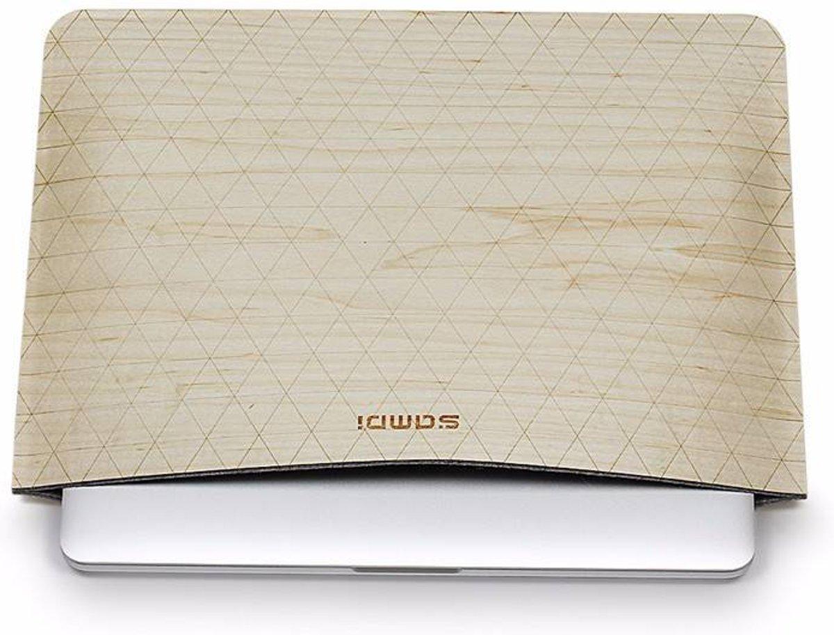 iPad Pro/MacBook Sleeve tm 13 inch Licht Hout kopen