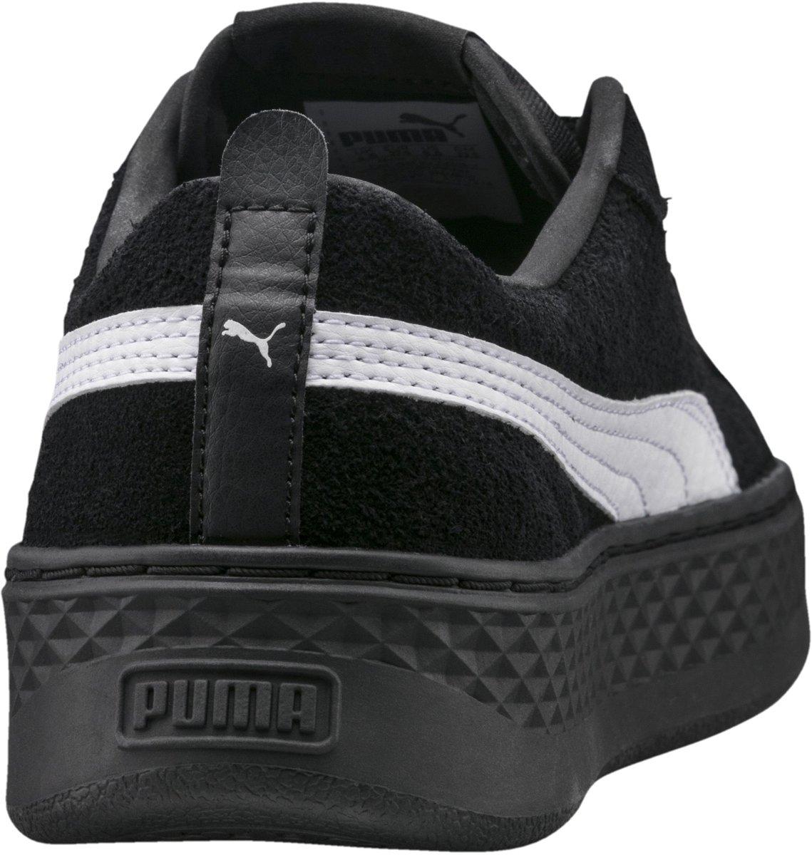 PUMA Smash Platform Sd Sneakers Dames Puma Black Puma White Maat 40
