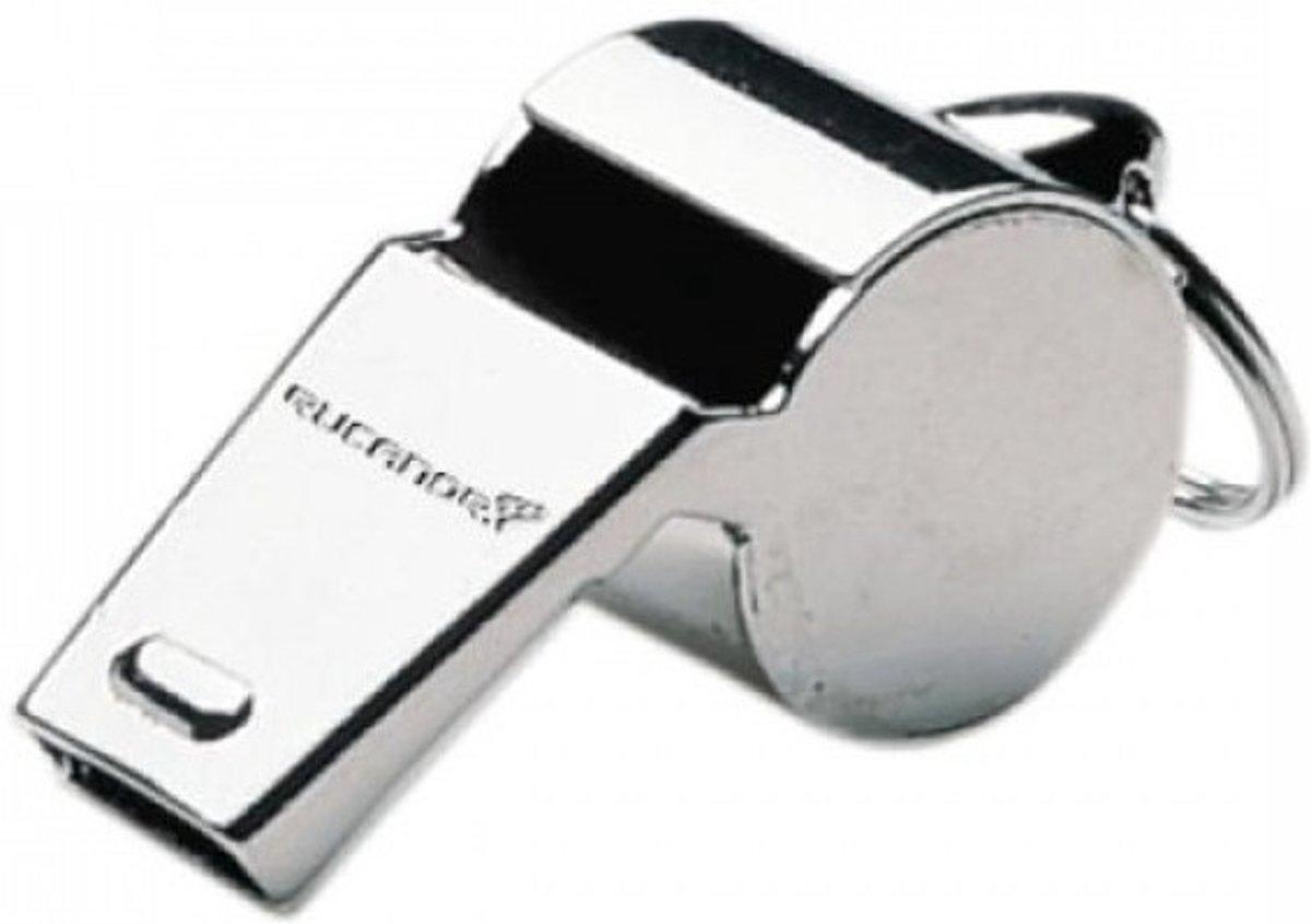 Rucanor Scheidsrechtersfluit 65 Mm Zilver kopen