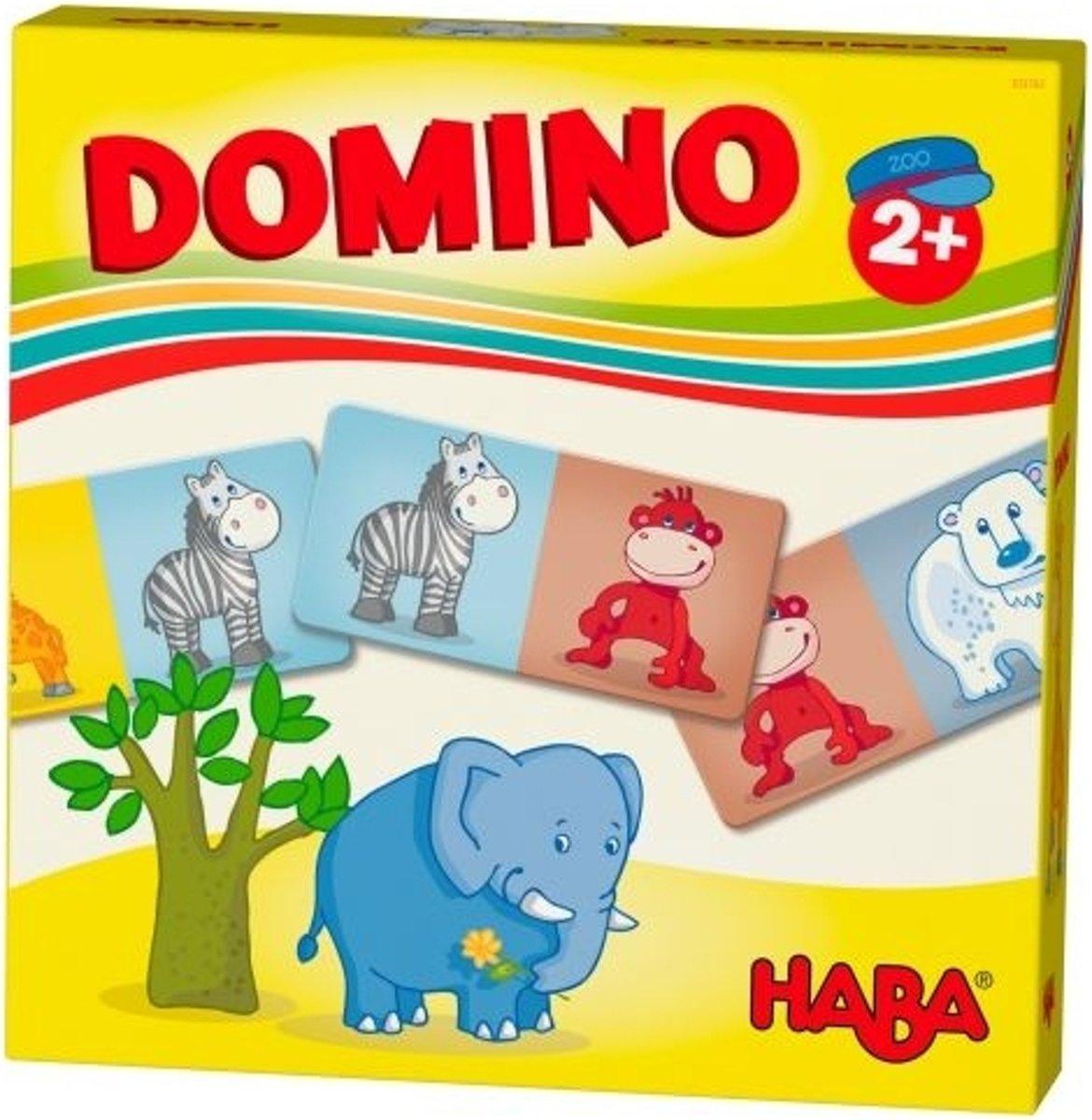Haba Domino Zoodieren 15-delig kopen