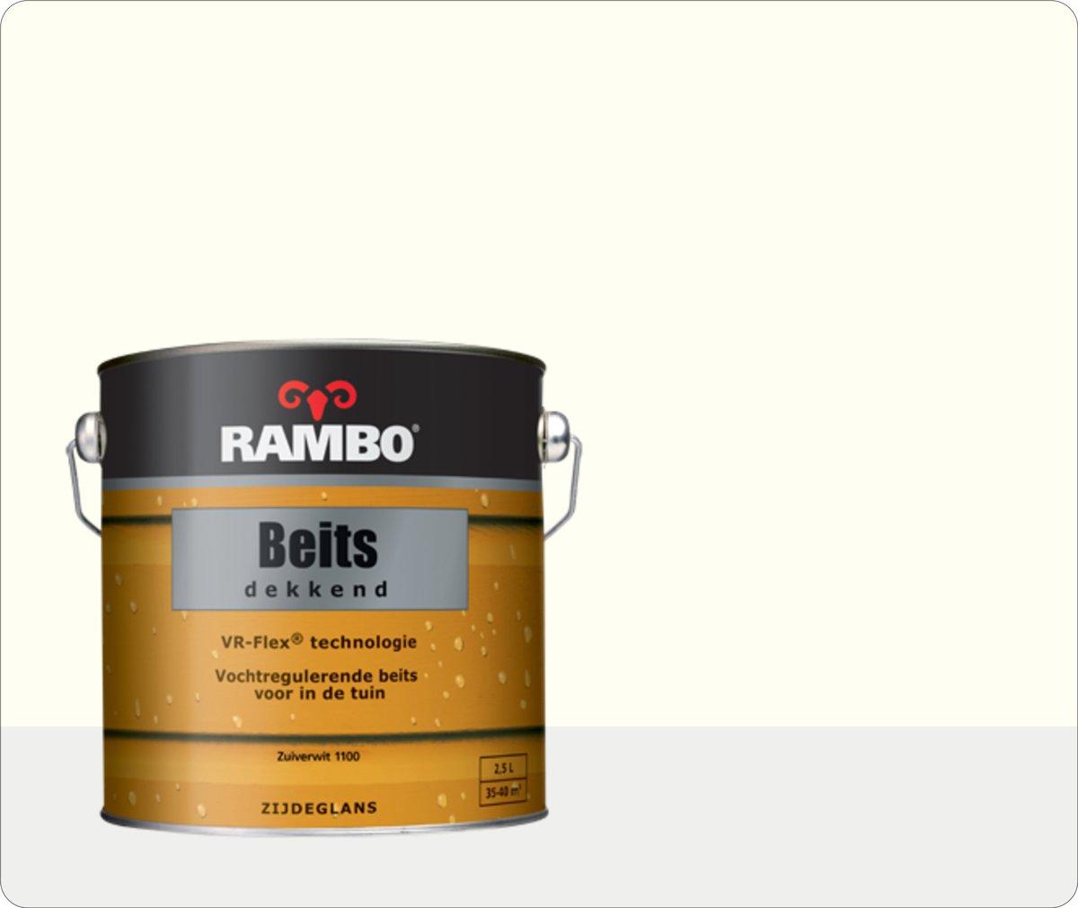 Rambo Beits Dekkend - 2,5 liter - Zuiverwit