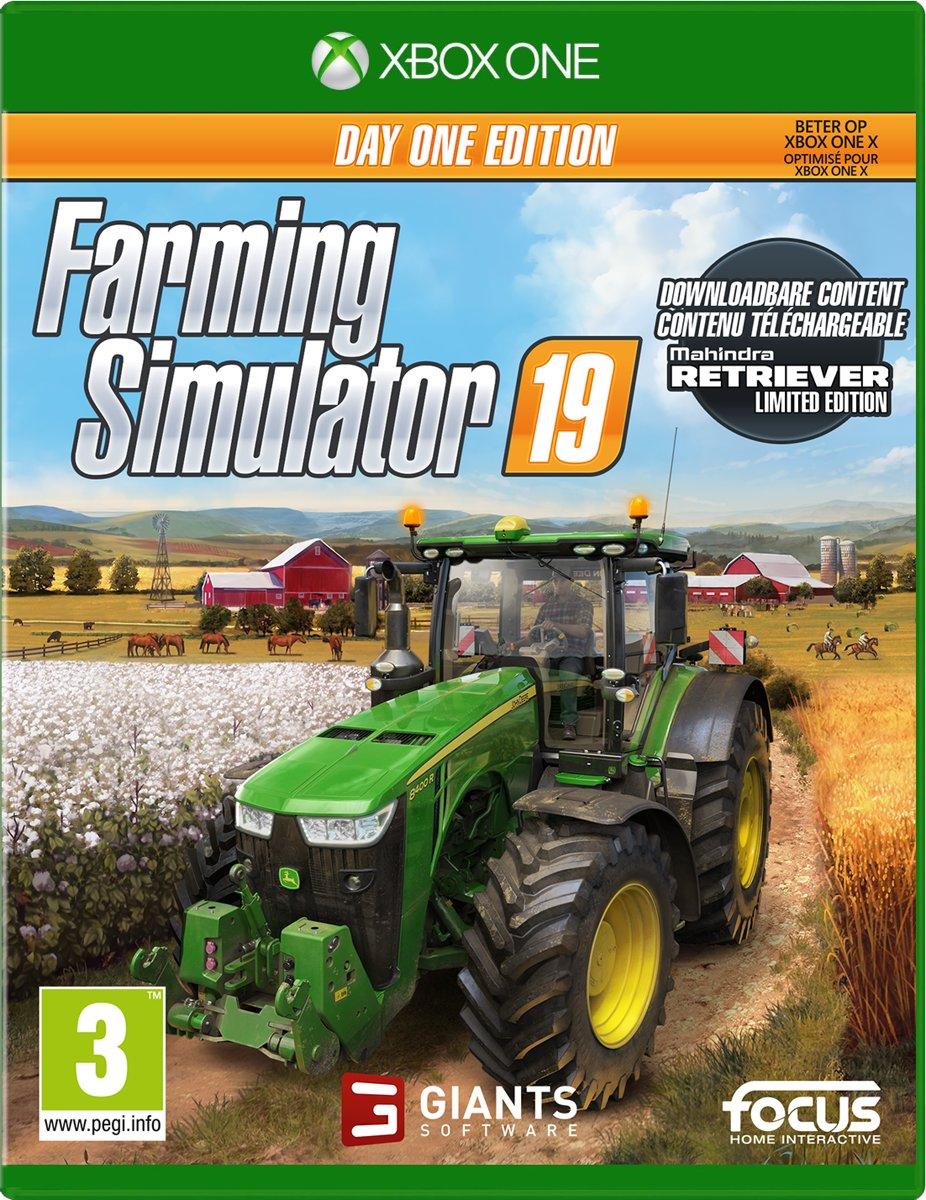Farming Simulator 19 Day One Edition Xbox One