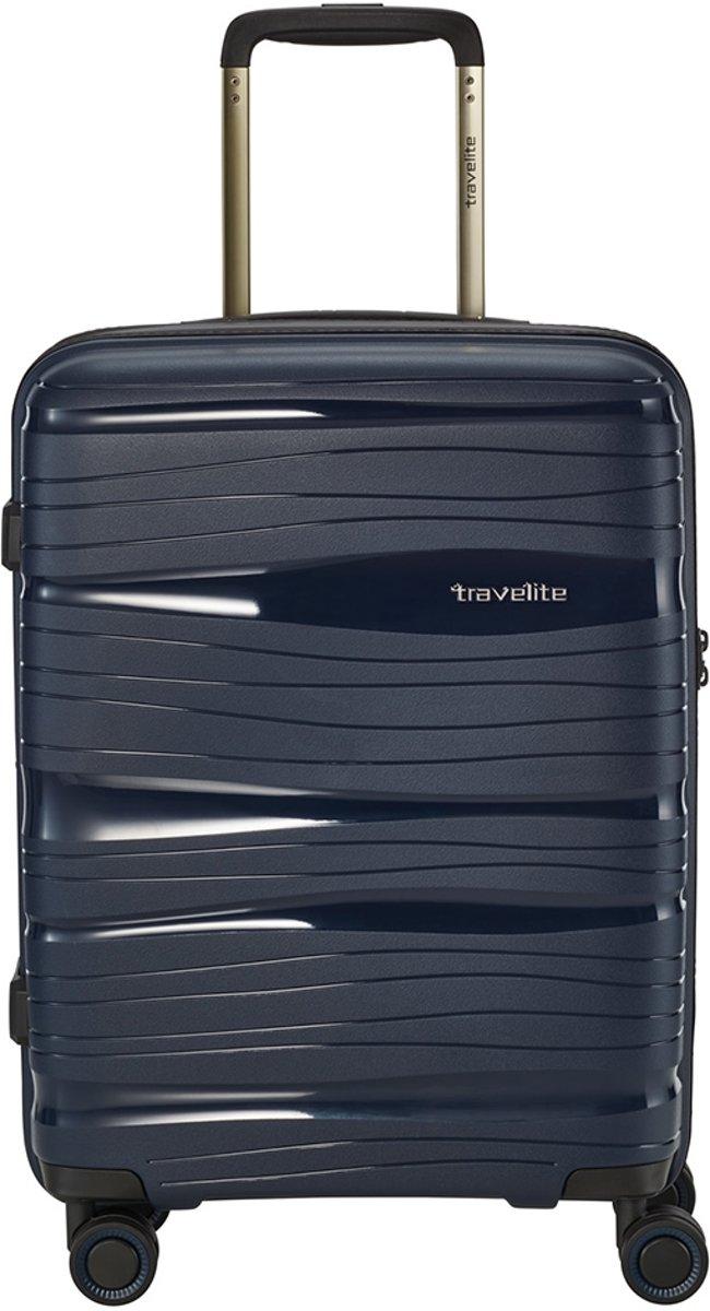 Travelite Motion koffer 55 cm navy kopen