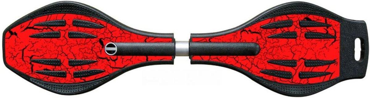 Milan Sports Waveboard Distroy - Rood kopen