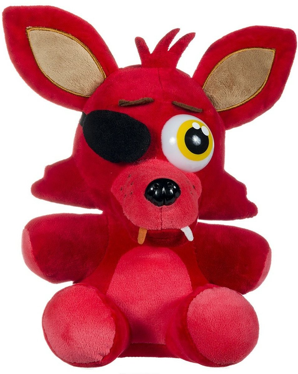 Five Nights at Freddy's Foxy the Pirate Fox (Rood) 25cm pluche knuffel