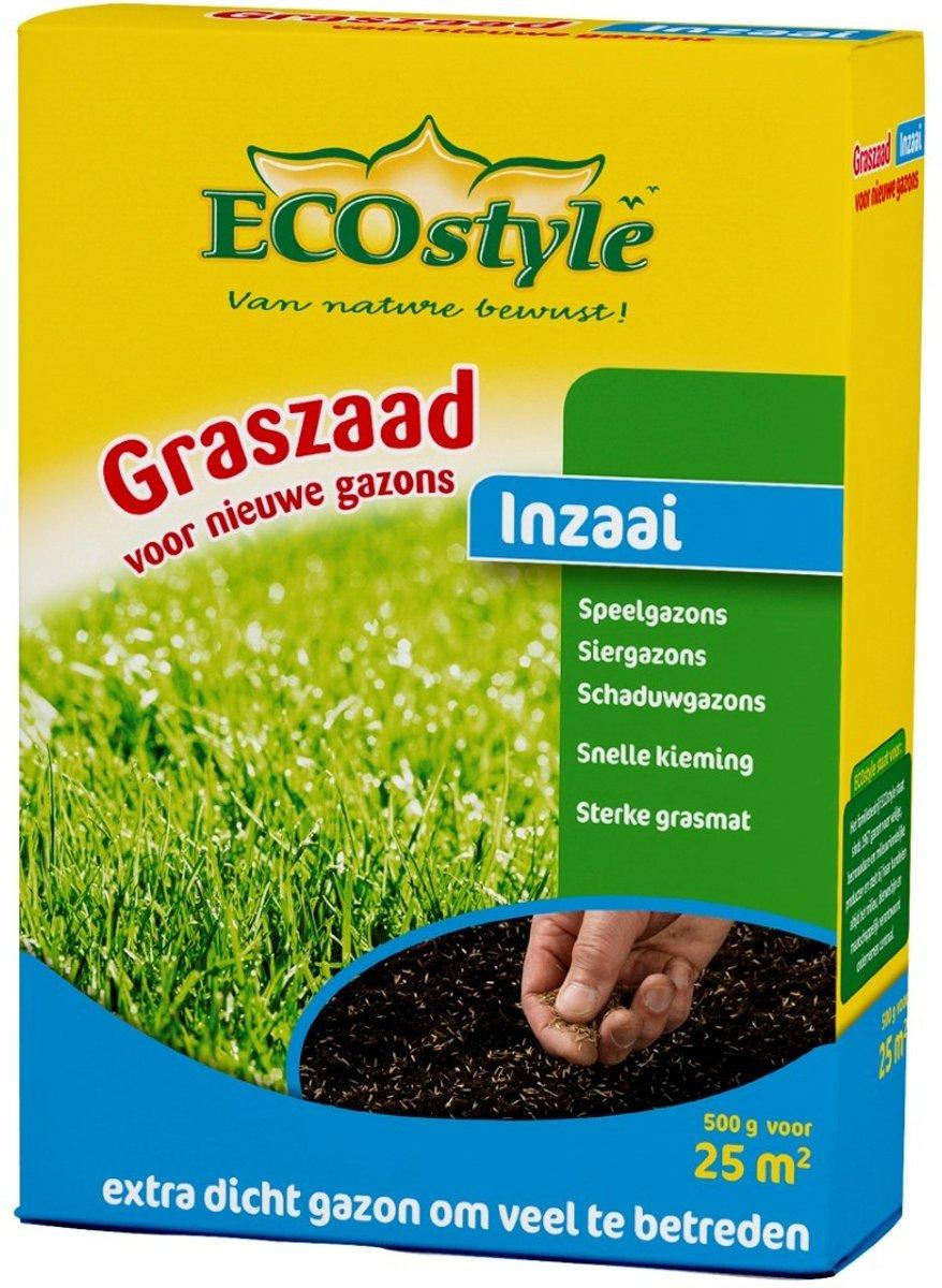 ECOstyle Graszaad-Inzaai - 500 g - voor het inzaaien van een nieuw gazon - voor 25 m2 kopen