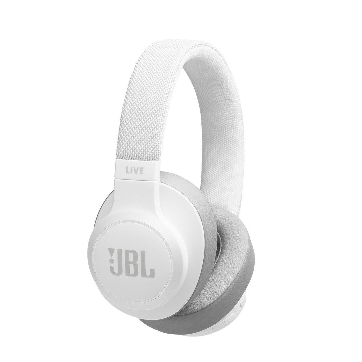 JBL Live 500BT - Over-ear bluetooth koptelefoon - Wit kopen