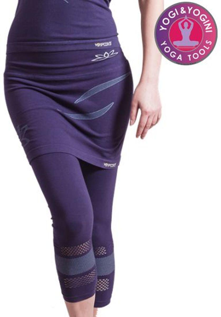 Yoga broek - Lotus Capri Rok - Naadloos - Paars - Maat S/M kopen