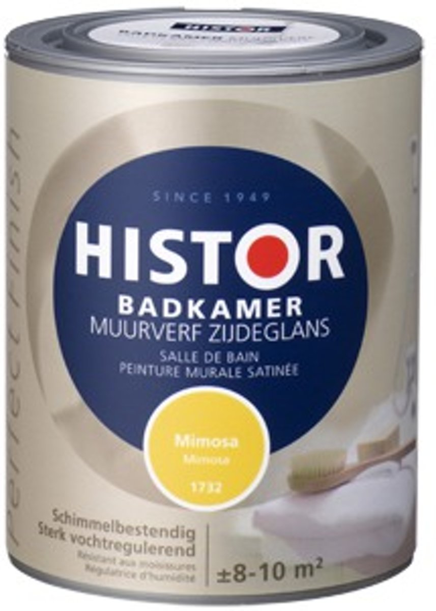 bol.com   Histor Perfect Finish Badkamer Muurverf Zijdeglans 1 ...