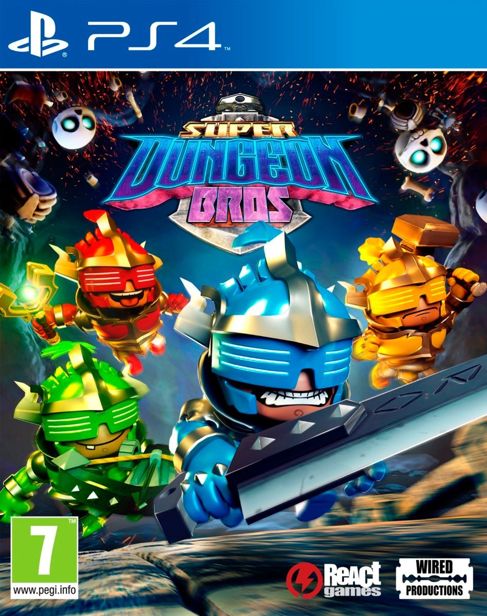 Super Dungeon Bros PlayStation 4
