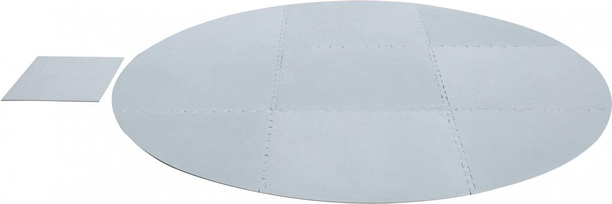 Lay-z-spa Ondervloer Grijs 211 Cm