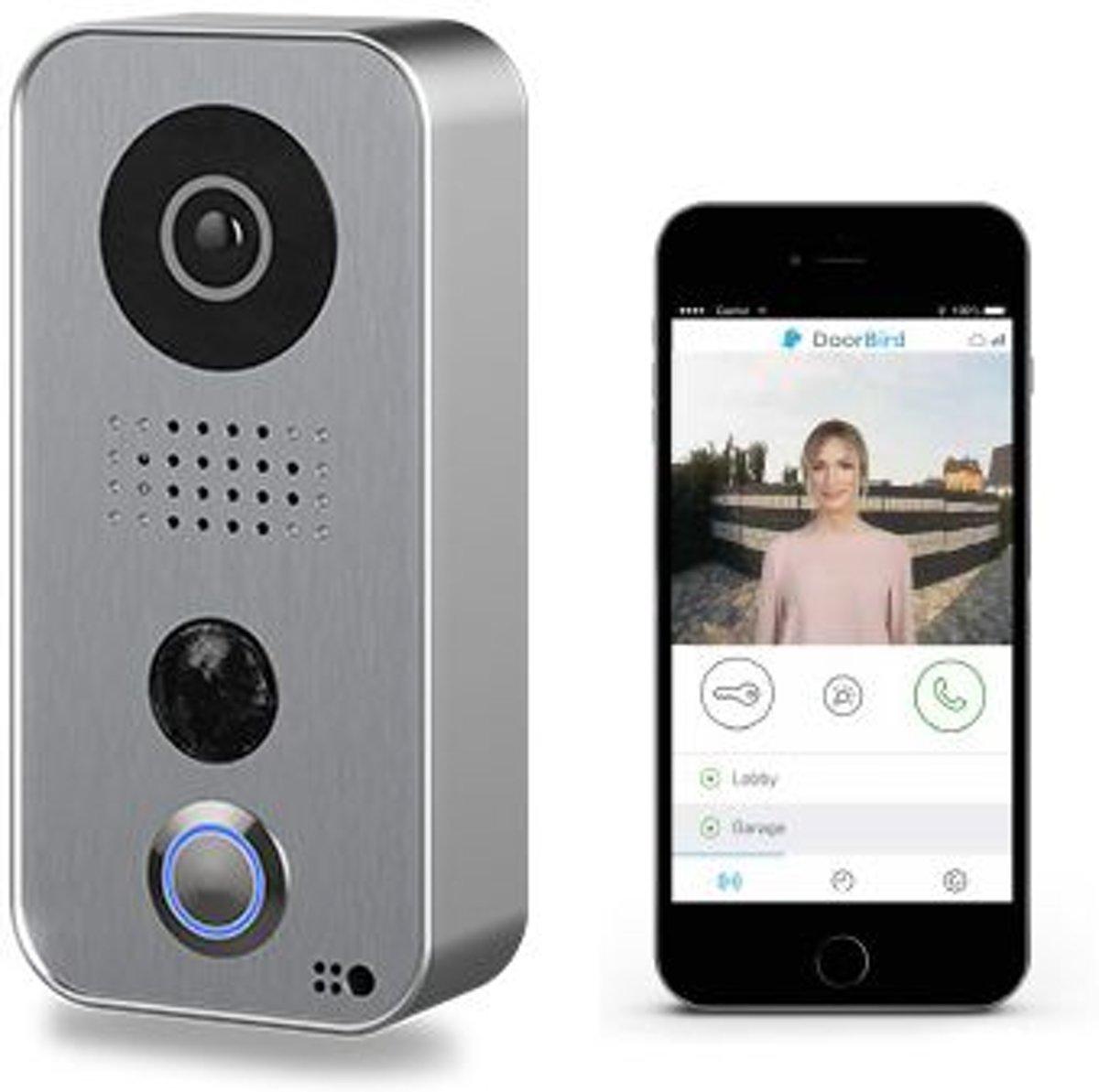Wifi HD video (opbouw) deurintercom met RVS frontplaat kopen