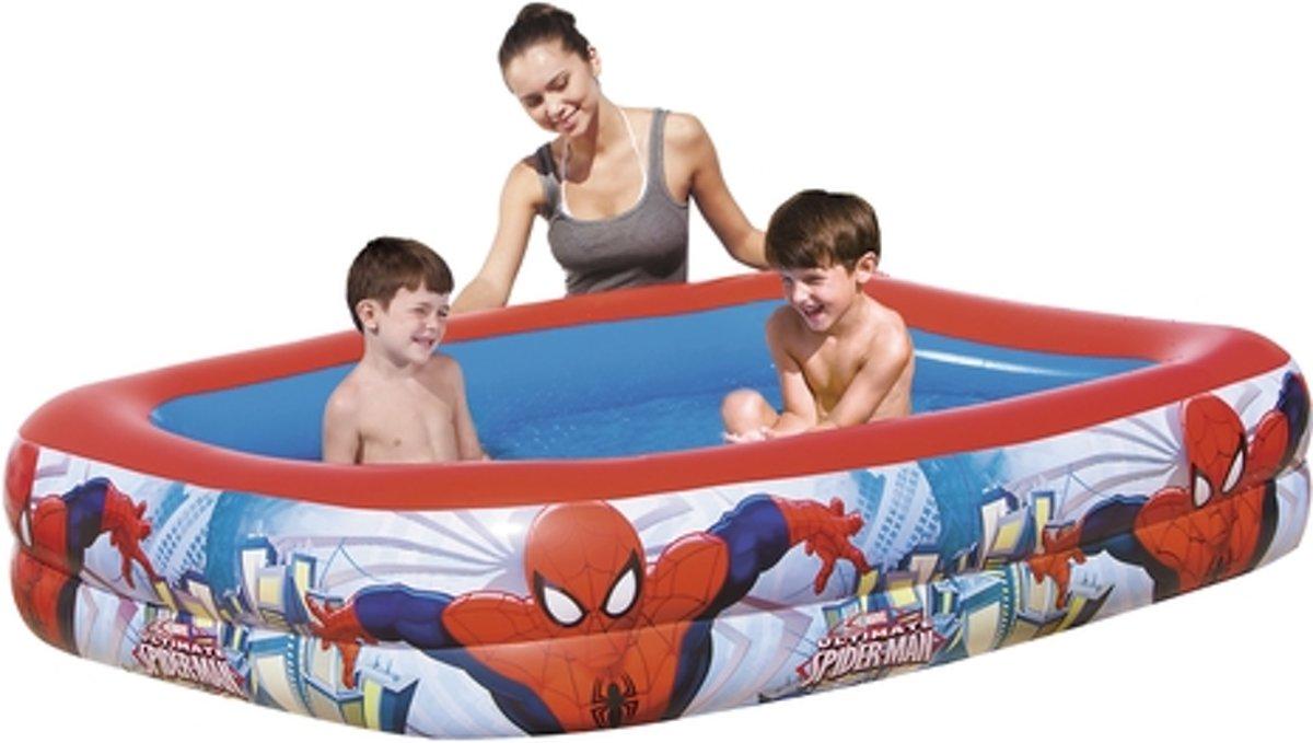Bestway Opblaasbaar Kinderzwembad Spiderman – 201 x 150 x 51cm