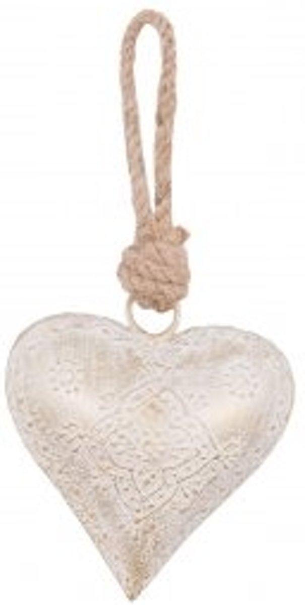 Clayre & Eef Hanger hart 10x10 cm kopen