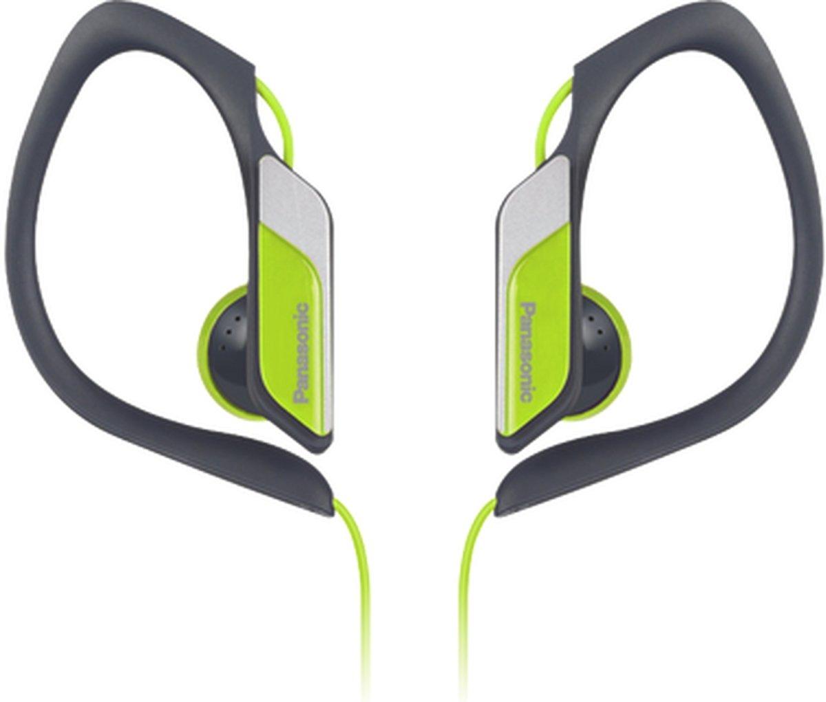 Panasonic RP-HS34E Zwart, Geel Intraauraal oorhaak, In-ear koptelefoon kopen