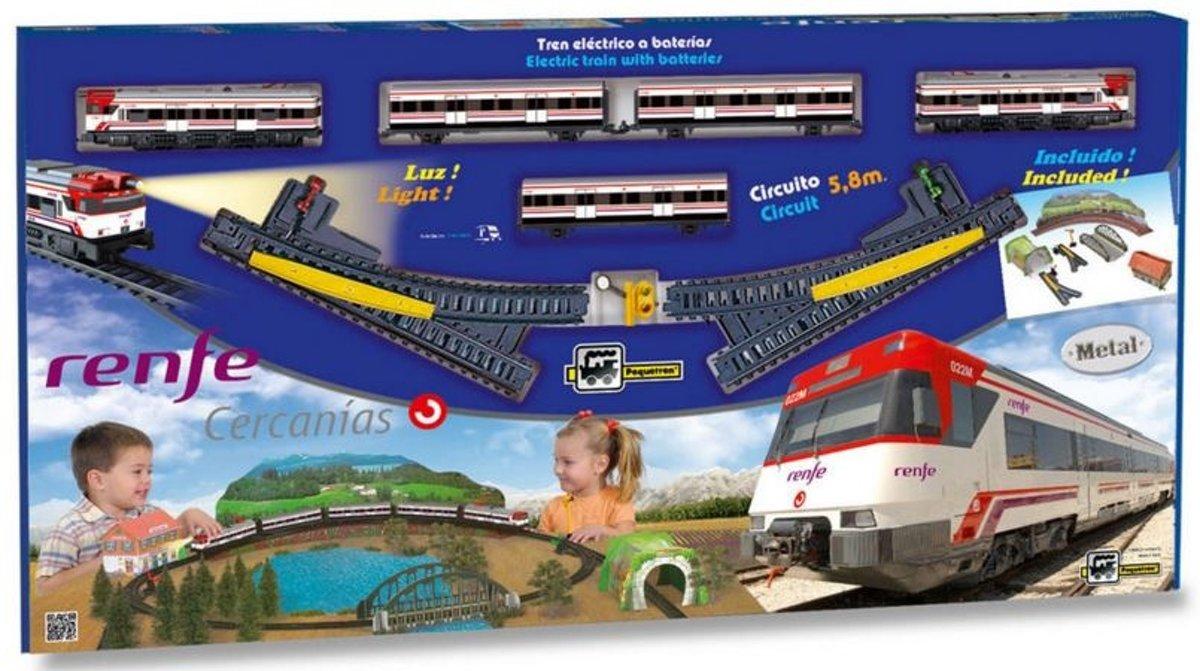 Pequetren Startset Batterij 680 Classic Cercanías Renfe kopen