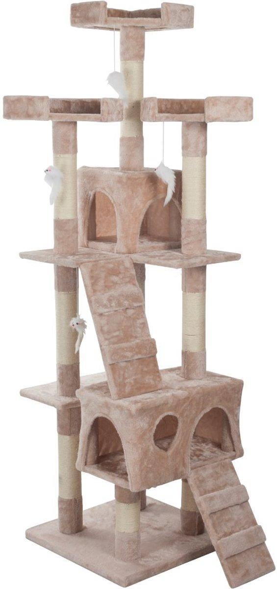 Katten Krabpaal Kattenhuis Simba