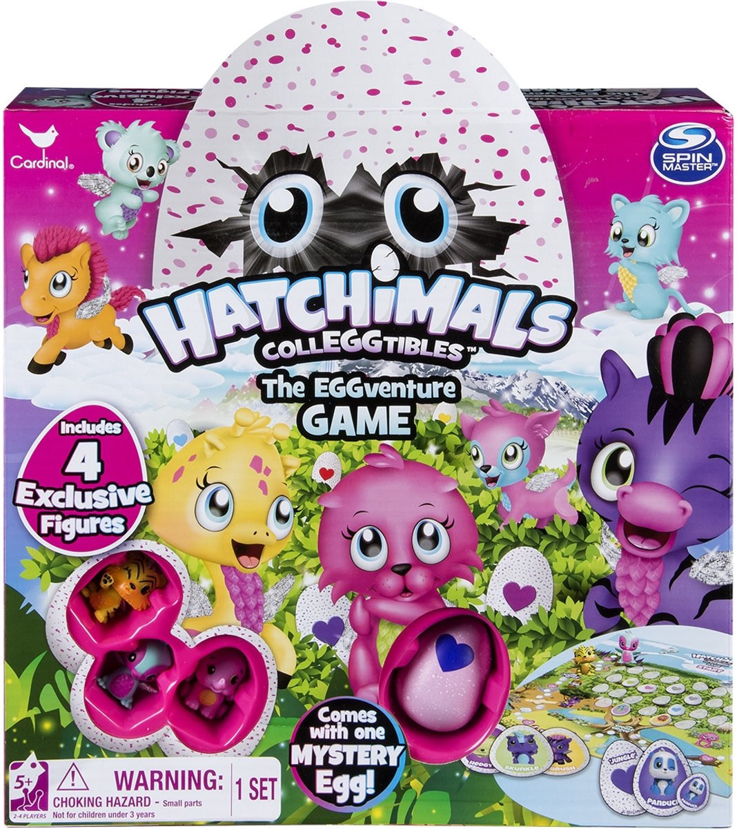 Hatchimals Eggventure Bordspel
