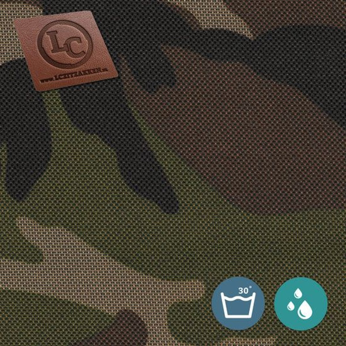 LC Zitzak hoes Nice outdoor camouflage - Wasbaar - Geschikt voor buiten kopen