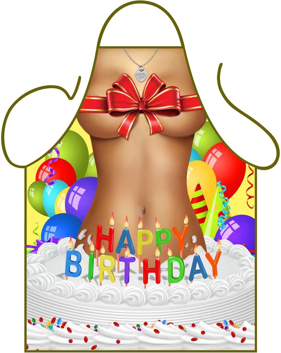 Party schort - Birthday Girl kopen