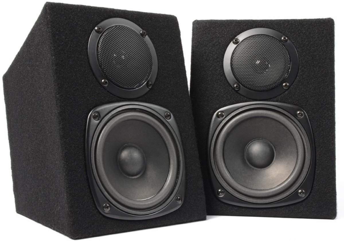 Fenton DJ Monitor Luidsprekers - 2 stuks - Zwart kopen