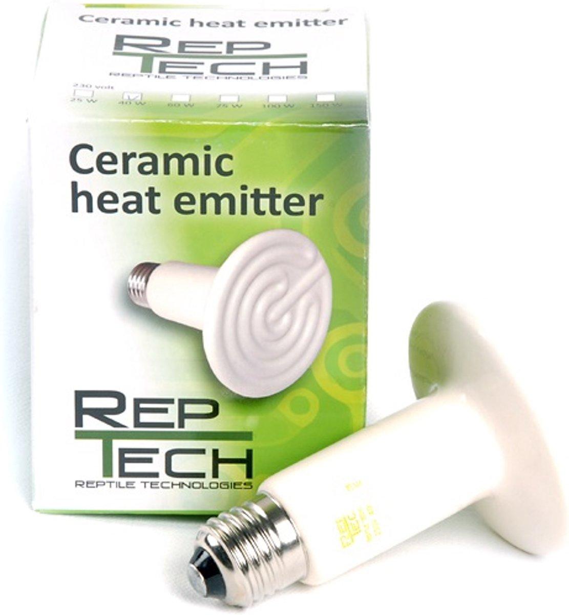 RepTech Keramische Warmtestraler 75 watt kopen