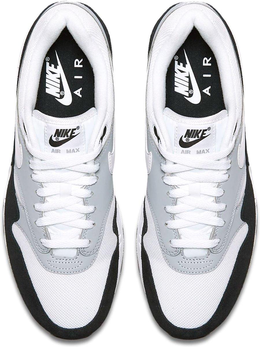 Nike Air Max 1 Sneakers WitLichtgrijsZwart Maat 44