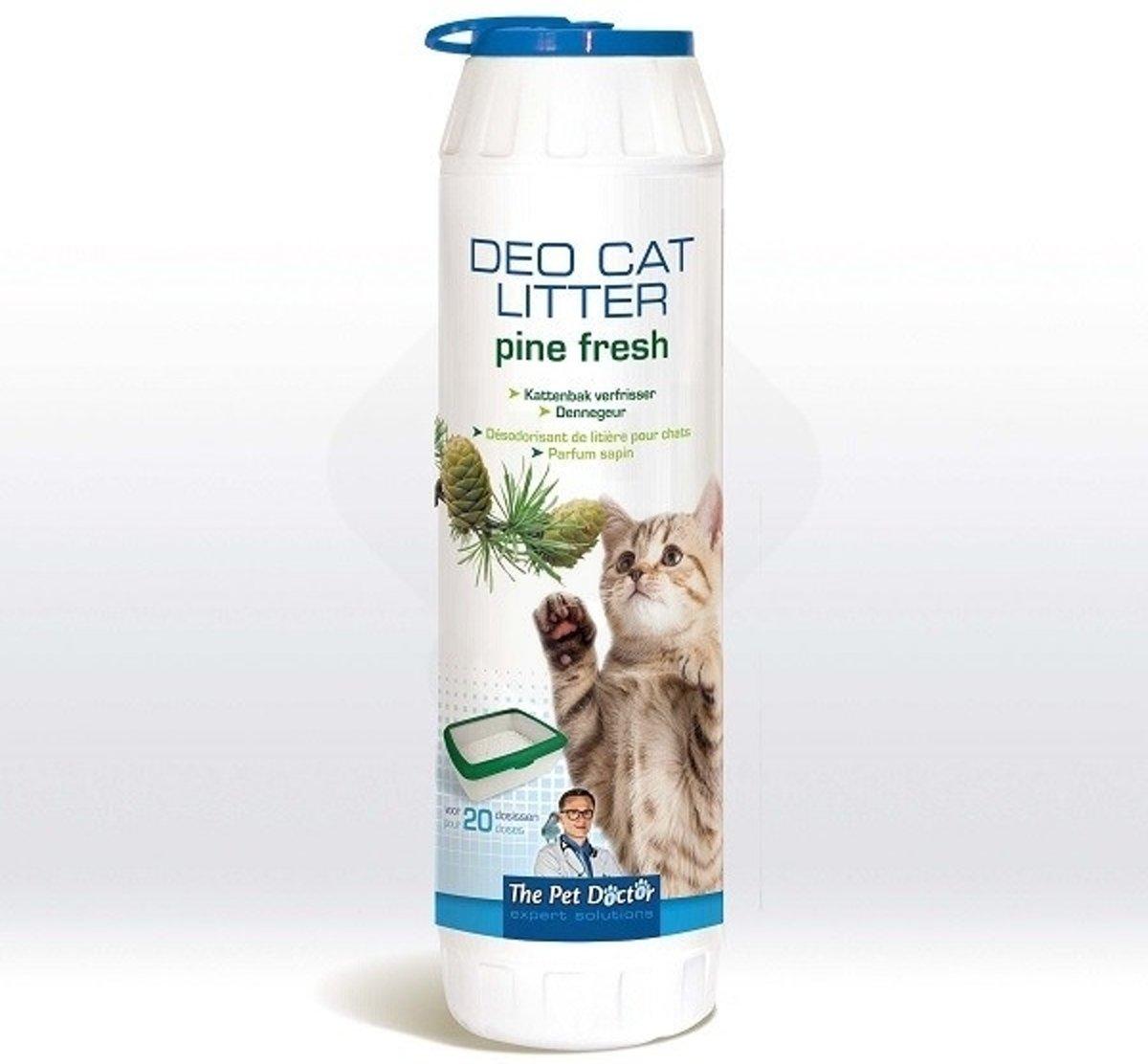 Kattenbak Deodorant Verfrisser Dennengeur - 750 g kopen