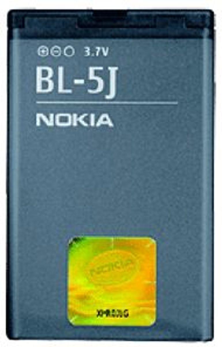 Image of Nokia Accu o.a. geschikt voor 5230,5233,5800,Asha 200,Asha 201,Asha 302,Lumia 520,N900,X1-00,X1-01,X6 (type BL-5J) (8718722012400)