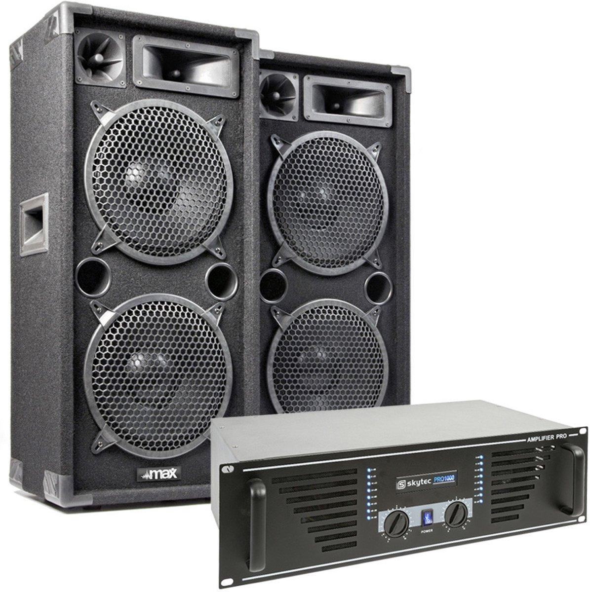 MAX Dark Night 210 geluidsinstallatie - 2000W max. kopen