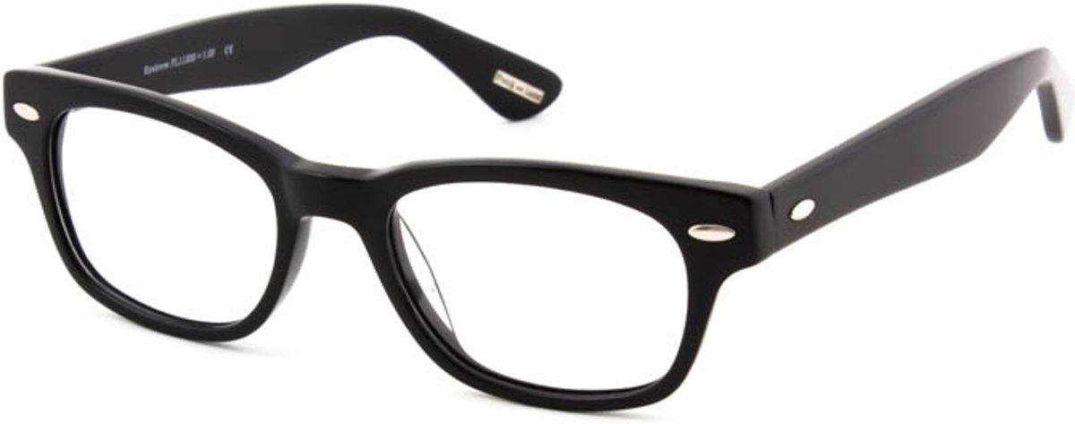 Leesbril Frank and Lucie Eyebrow FL11200 zwart  -+1.00 kopen