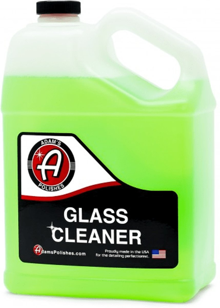 Foto van Adams Polishes Glass cleaner 3.78L