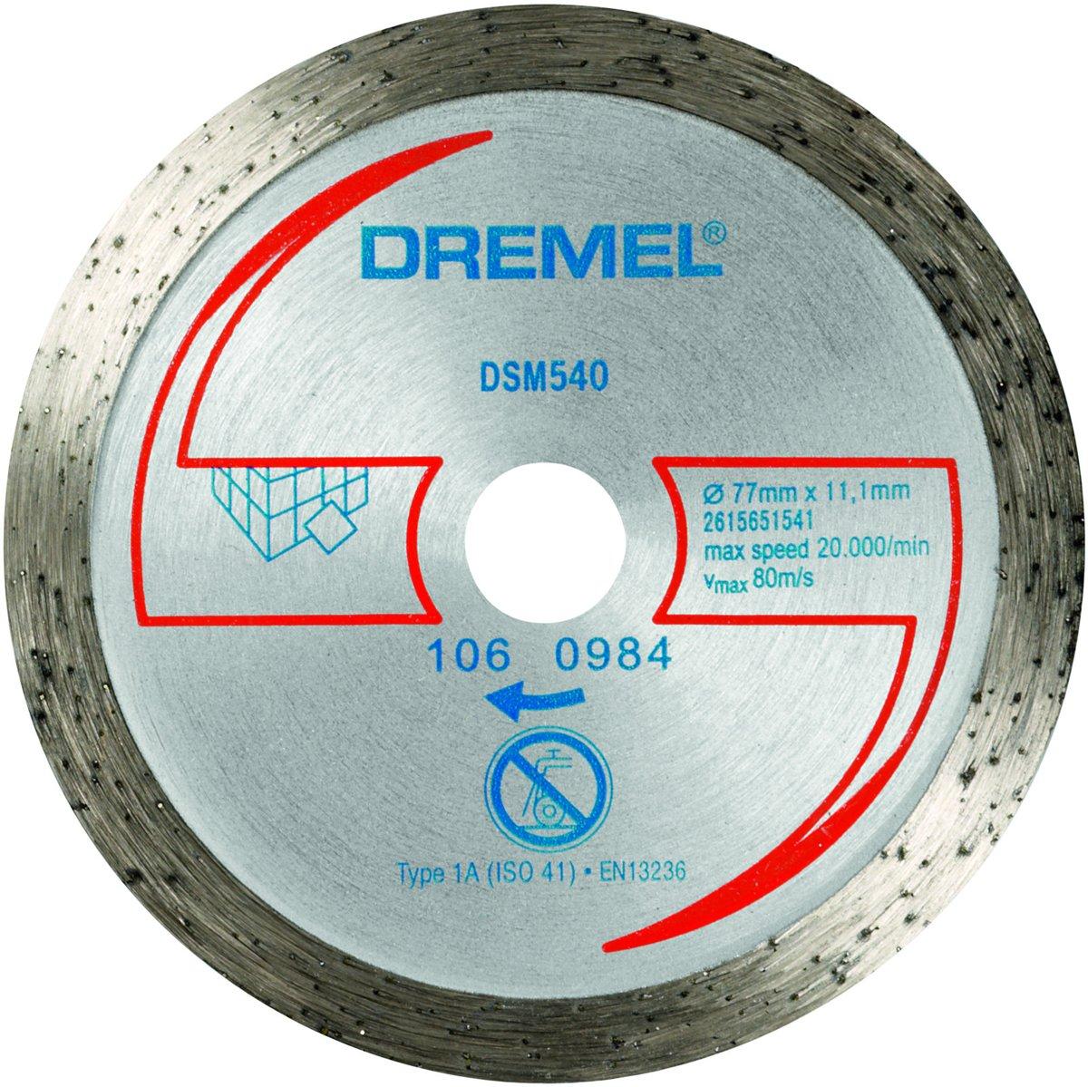 Dremel DSM20 diamantsnijschijf - DSM540
