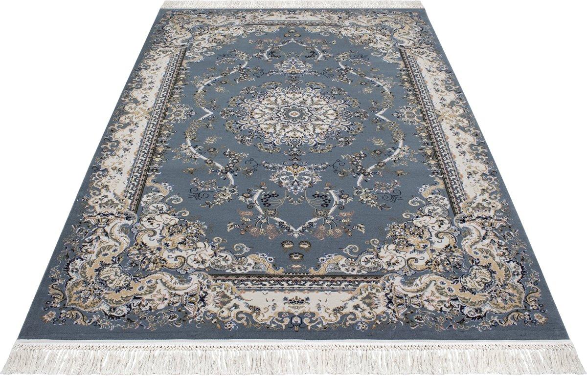Perzisch Tapijt Blauw : Bol.com vloerkleed klassiek hasankeyf perzisch tapijt blauw 80x300cm