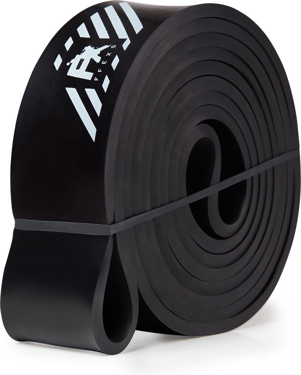 Pull up band weerstandsband fitness - Heavy (Zwart)- Weerstandsband elastiek - Resistance band power workout gear crossfit gewichtheffen - inclusief 2 jaar garantie kopen
